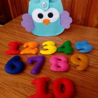 здраствуйте! мягкие, яркие буквы и цифры очень нравятся деткам, их можна крепить. Косів, Івано-Франківська область. фото 3
