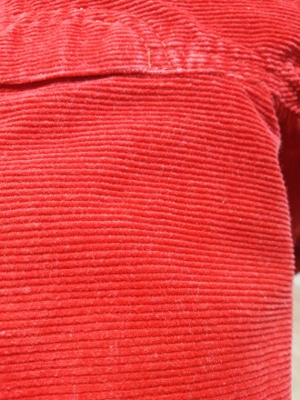Продам вельветовый комбинезон. Размер 92. Цвет ярко-красный. Без нюансов. Все за. Харьков, Харьковская область. фото 6