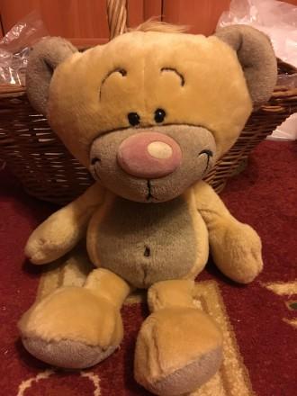 Мишка Teddy bear плюшевый игрушка новый бирка 27 см. Запоріжжя. фото 1