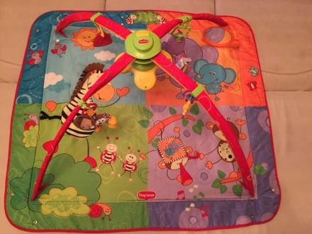 Продам развивающий коврик в отличном состоянии. Все работает игрушки оригинальны. Полтава, Полтавська область. фото 3