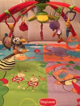 Продам развивающий коврик в отличном состоянии. Все работает игрушки оригинальны. Полтава, Полтавська область. фото 4