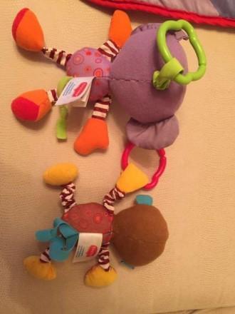 Продам развивающий коврик в отличном состоянии. Все работает игрушки оригинальны. Полтава, Полтавська область. фото 6