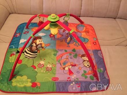 Продам развивающий коврик в отличном состоянии. Все работает игрушки оригинальны. Полтава, Полтавська область. фото 1