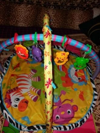Игровой коврик для вашего ребенка, в хорошем состоянии. Слов'янськ, Донецька область. фото 3
