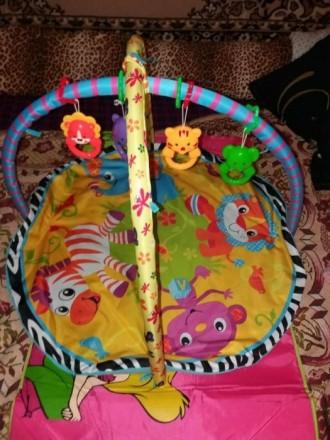Игровой коврик для вашего ребенка, в хорошем состоянии. Слов'янськ, Донецька область. фото 4