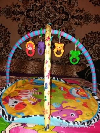 Игровой коврик для вашего ребенка, в хорошем состоянии. Слов'янськ, Донецька область. фото 1