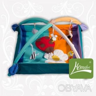игровой развивающий коврик для малыша, в котором малыш может лежать и играть под. Нікополь, Дніпропетровська область. фото 1