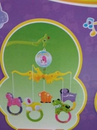 Развивает зрительное и цветовое восприятие ребенка. Игрушки можно снять и играть. Харьков, Харьковская область. фото 4