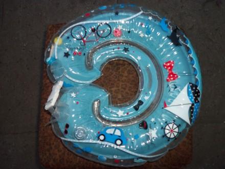 Продается круг для купания младенца, новый. В надутом виде в середине круга, зве. Синельникове, Дніпропетровська область. фото 2