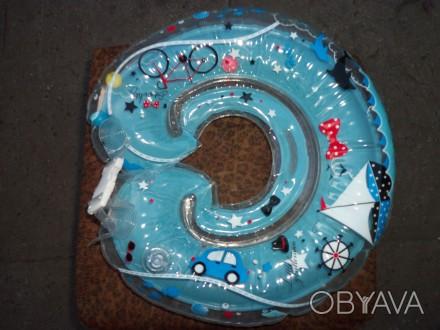 Продается круг для купания младенца, новый. В надутом виде в середине круга, зве. Синельникове, Дніпропетровська область. фото 1