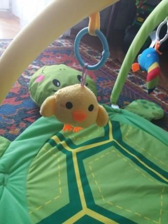 Продам наш развивающий коврик. Мой ребенок игрался с удовольствием, тянулся к яр. Київ, Київська область. фото 6
