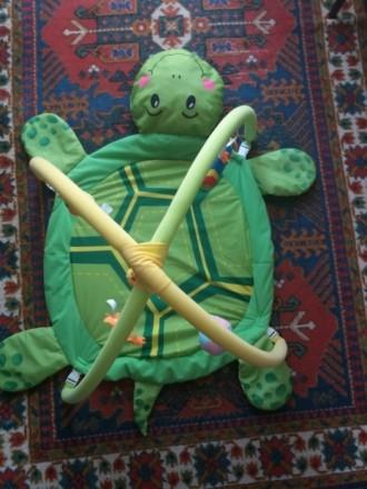 Продам наш развивающий коврик. Мой ребенок игрался с удовольствием, тянулся к яр. Київ, Київська область. фото 4