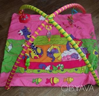 Необходимая вещь для малышей.Яркий коврик для малышей. В отличном состоянии. Оче. Костянтинівка, Донецька область. фото 1