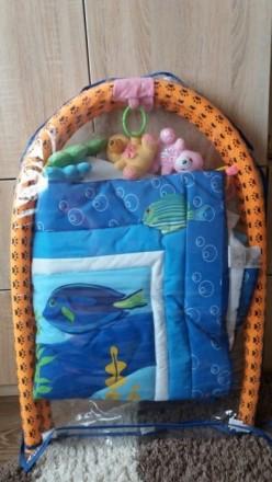 Развивающий коврик. Состояние нового.. Суми, Сумська область. фото 3