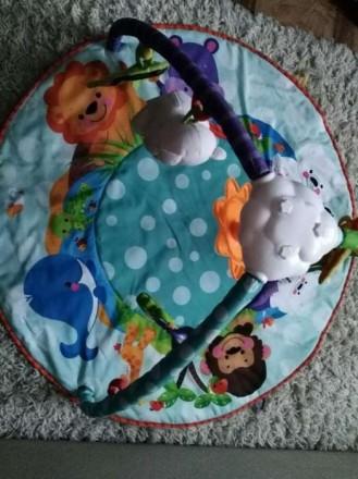 Коврик развивающий от 0+ в отличном состоянии. Нашему малышу нравился. Все игруш. Киев, Киевская область. фото 4