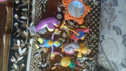 Коврик фирми тини лаф.состояние на 5+.зеркало музикальное все игрушки наместе.на. Киев, Киевская область. фото 3