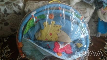 Коврик фирми тини лаф.состояние на 5+.зеркало музикальное все игрушки наместе.на. Киев, Киевская область. фото 1