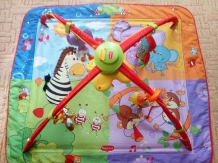 В хорошем состоянии. После одного ребенка. 5шт. цветных игрушек,кольца на дуга. Алчевск, Луганская область. фото 3