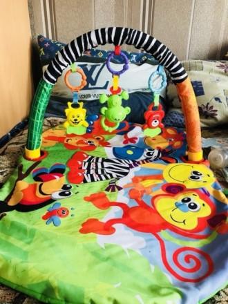 Продам отличный коврик Подходит от 0+ На коврике пятен, и дыр нет Коробка имеетс. Киев, Киевская область. фото 2