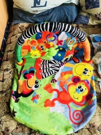 Продам отличный коврик Подходит от 0+ На коврике пятен, и дыр нет Коробка имеетс. Киев, Киевская область. фото 3