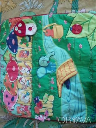 Развивающий коврик для ребенка в хорошем состоянии.. Черкаси, Черкаська область. фото 1