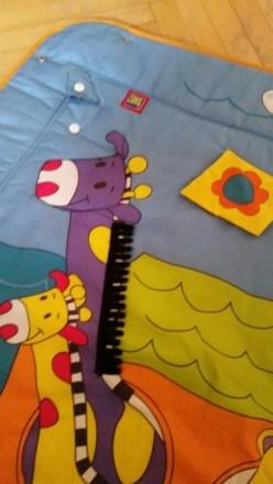 Как новый, развивающий коврик для детей после нашей малышки от 0, бренда Tiny Lo. Киев, Киевская область. фото 6