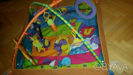 Как новый, развивающий коврик для детей после нашей малышки от 0, бренда Tiny Lo. Киев, Киевская область. фото 1