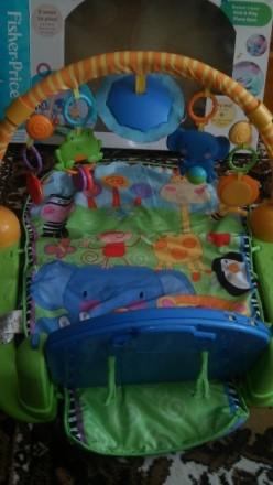 Продам коврик в хорошем состоянии. Развивающий игровой коврик Fisher-Price включ. Запоріжжя, Запорізька область. фото 3