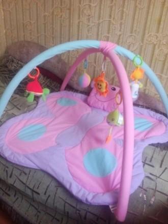 Продам детский развивающий коврик, в отличном состоянии. Все игрушки есть, пятен. Кривий Ріг, Дніпропетровська область. фото 2