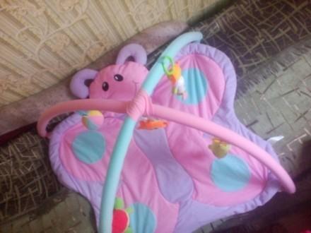 Продам детский развивающий коврик, в отличном состоянии. Все игрушки есть, пятен. Кривий Ріг, Дніпропетровська область. фото 3