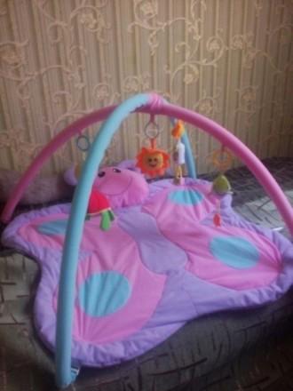 Продам детский развивающий коврик, в отличном состоянии. Все игрушки есть, пятен. Кривий Ріг, Дніпропетровська область. фото 4