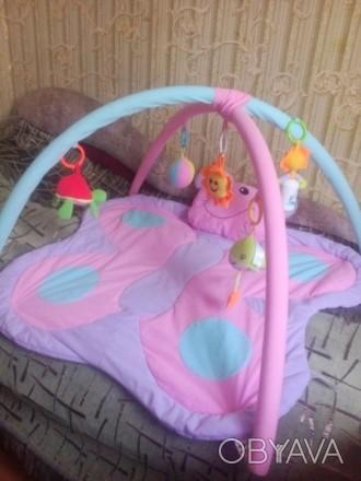 Продам детский развивающий коврик, в отличном состоянии. Все игрушки есть, пятен. Кривий Ріг, Дніпропетровська область. фото 1