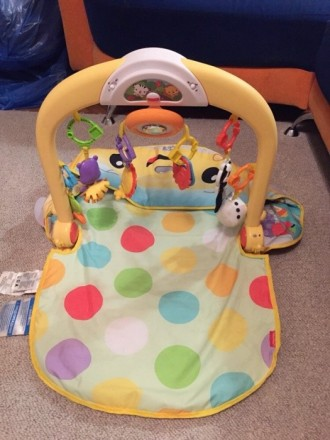 Детский коврик с крутящимся рулём, с подсветкой и музыкой) есть 3 положения ковр. Одеса, Одеська область. фото 2
