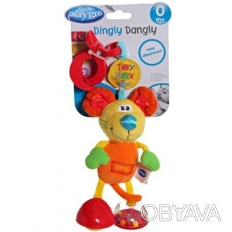 """Мягкую игрушку-подвеску Playgro Toy box """"Мышка Мимси"""" можно прикрепить на коляск. Херсон, Херсонська область. фото 1"""