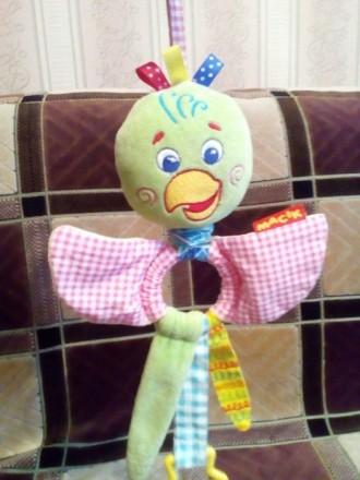Продаю нашу любимую подвеску в краватку,каляску попугайчика.игрушка в состоянии . Баришівка, Київська область. фото 4