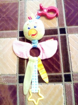 Продаю нашу любимую подвеску в краватку,каляску попугайчика.игрушка в состоянии . Баришівка, Київська область. фото 3