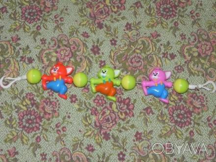 Продам игрушку подвеску на коляску 100 руб. Луганськ, Луганська область. фото 1