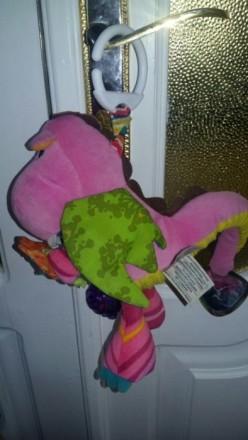 """Мягкая игрушка-подвеска Lamaze """"Дракоша"""" станет любимой игрушкой крохи. Изготовл. Жмеринка, Вінницька область. фото 3"""