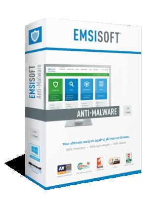 Антивирус для сервера Emsisoft Anti-Malware for Server 1 год 1 сервер. Киев. фото 1