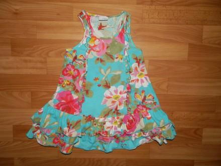 Продам нашу тунику, топ Next р.116 ( начинать носить можно со 110 как платье) б/. Южный, Одесская область. фото 2