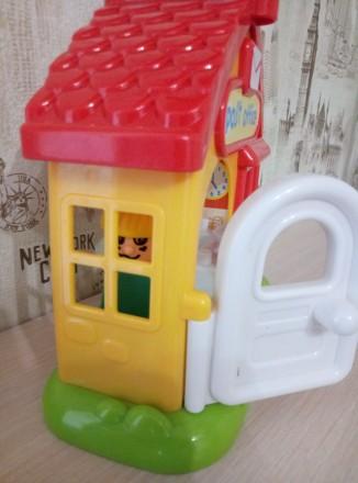 Озвученый почтовый домик( нажимая на кнопки на крыше издаёт звонок телефона,двер. Киев, Киевская область. фото 7