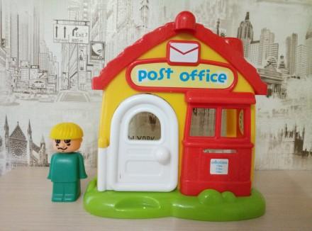 Озвученый почтовый домик( нажимая на кнопки на крыше издаёт звонок телефона,двер. Киев, Киевская область. фото 3