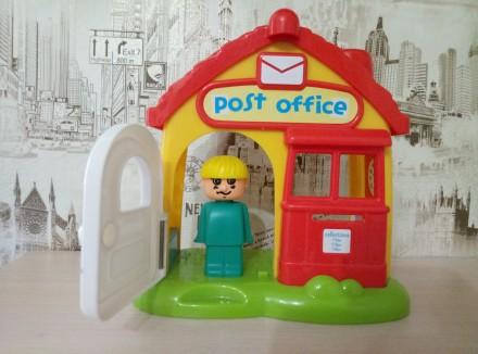 Озвученый почтовый домик( нажимая на кнопки на крыше издаёт звонок телефона,двер. Киев, Киевская область. фото 4