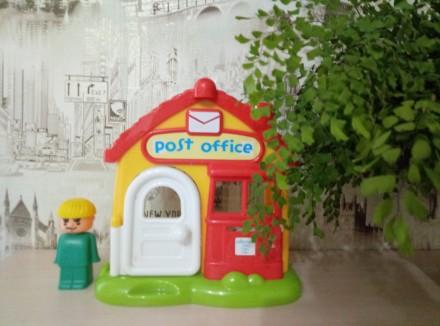 Озвученый почтовый домик( нажимая на кнопки на крыше издаёт звонок телефона,двер. Киев, Киевская область. фото 8
