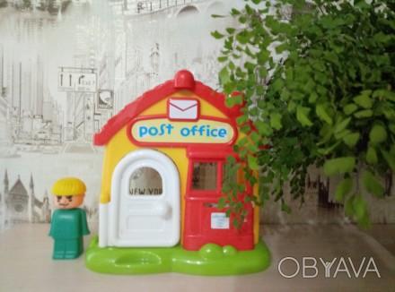 Озвученый почтовый домик( нажимая на кнопки на крыше издаёт звонок телефона,двер. Киев, Киевская область. фото 1