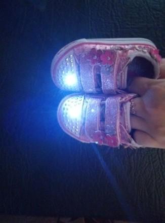 Очень крутые и яркие кедики,на ножке смотрятся очень красиво!)При ходьбе мигаю т. Киев, Киевская область. фото 5