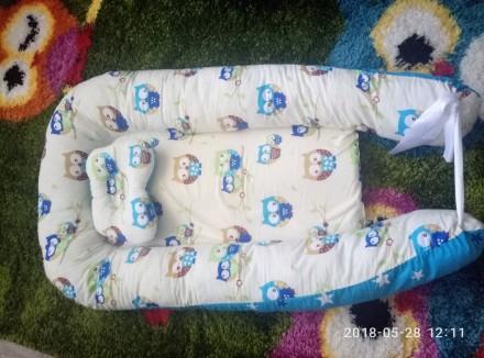 Очень хорошая вещь для новорожденного, малышу комфортно спать в такой люльке, че. Черкассы, Черкасская область. фото 2