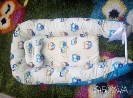 Очень хорошая вещь для новорожденного, малышу комфортно спать в такой люльке, че. Черкассы, Черкасская область. фото 1