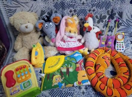 Пакет игрушек( не музыкальные). Киев. фото 1
