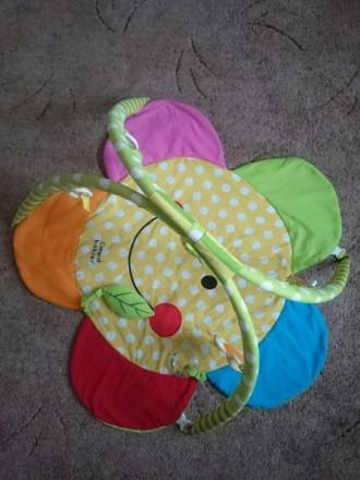 Продам коврик для игры для малышей Canpol babies в очень хорошем состоянии. В ко. Макіївка, Донецька область. фото 4